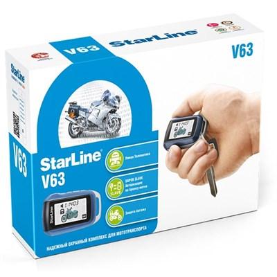 Мотосигнализация StarLine Moto V63 - фото 7997
