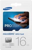 MicroSDHC 16GB Samsung Class10 Ultra UHS-I 90Mb/s