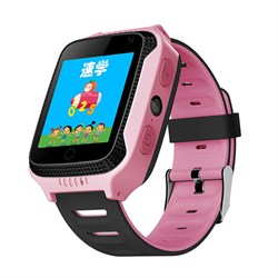 Умные часы Smart Kid Watch T529 GPS+ Pink