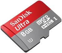 MicroSD 8GB SanDisk Class10 Ultra UHS-I 48Mb/s