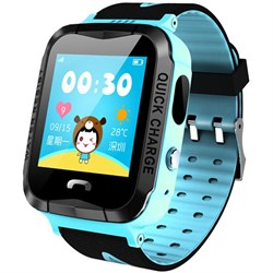 Умные часы Smart Kid Watch V6G Blue IP67