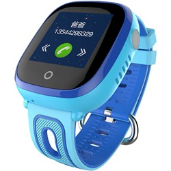 Умные часы Smart Kid Watch DF31 Blue IP67