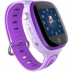 Умные часы Smart Kid Watch DF31 Purple IP67