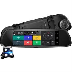 Видеорегистратор ХРХ ZX868 с 4G LTE зеркало с навигатором и камерой з/в