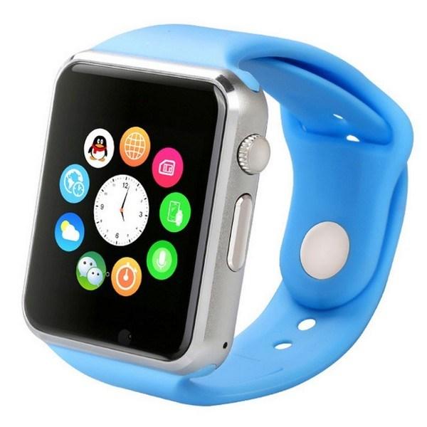 Умные часы Smart Watch A1 Blue купить в Москве дёшево. Описание ... 9fcf89c5eaa16