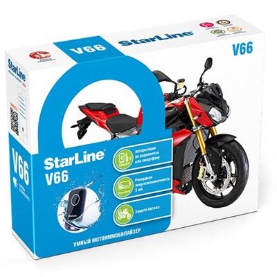 Иммобилайзер StarLine Moto V66 - фото 7996