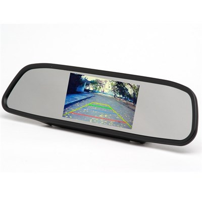 "Зеркало заднего вида с монитором 4,3"" для камеры з/х - фото 8178"