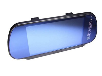 """Зеркало заднего вида с дисплеем 7"""" для камеры з/х без USB - фото 8190"""