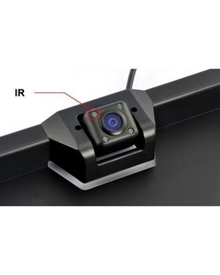 рамка для номера с камерой з/в и подсветкой камеры - фото 8295