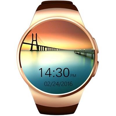 Смарт-часы KingWear KW18 Gold - фото 10836