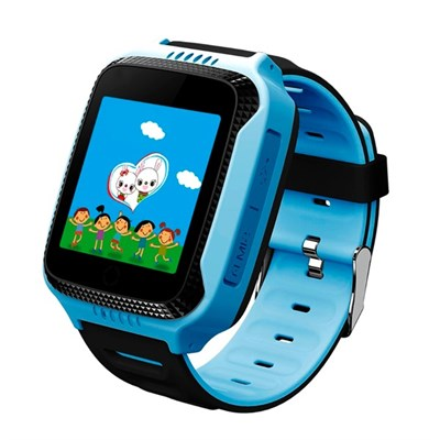 Умные часы Smart Kid Watch T529 GPS+ Blue - фото 11209