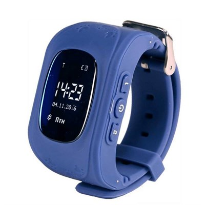 Умные часы Smart Kid Watch Q50 Purple - фото 11261
