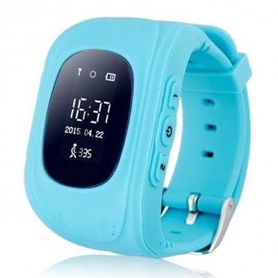 Умные часы Smart Kid Watch Q50 Blue - фото 11268