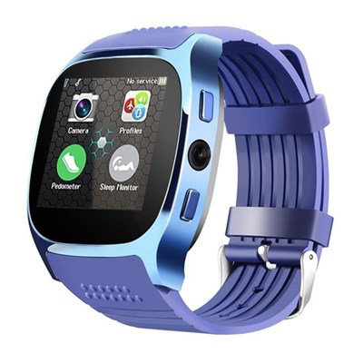 Смарт-часы Smart Watch T8 Blue - фото 11294