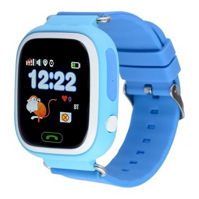 Умные часы Smart Kid Watch Q90 Blue - фото 11316