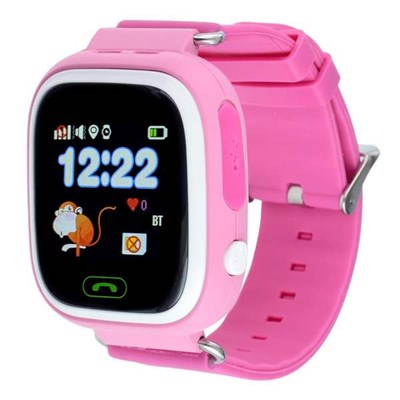 Умные часы Smart Kid Watch Q90 Purple - фото 11317