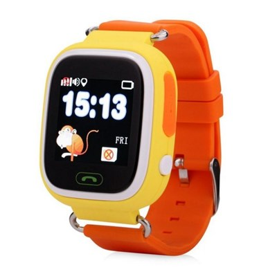 Умные часы Smart Kid Watch Q90 Yellow - фото 11319