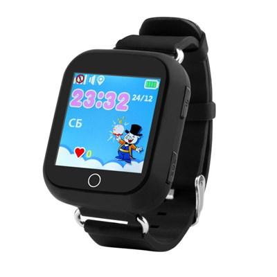 Умные часы Smart Kid Watch Q100 Black - фото 11341
