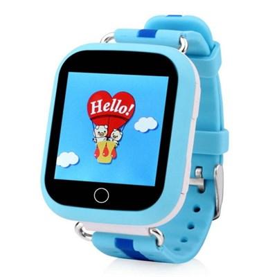 Умные часы Smart Kid Watch Q100 Blue - фото 11346