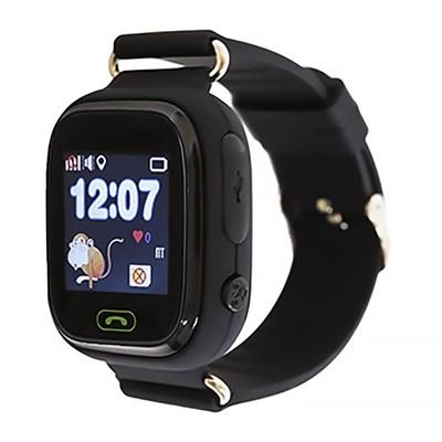 Умные часы Smart Kid Watch Q80 Black - фото 11355