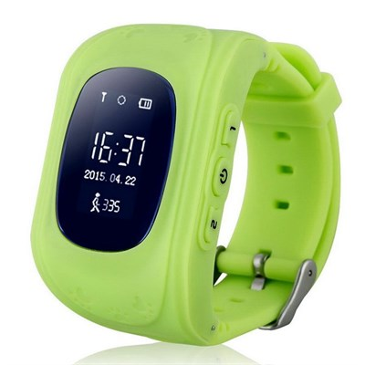 Умные часы Smart Kid Watch Q50 Green - фото 11371