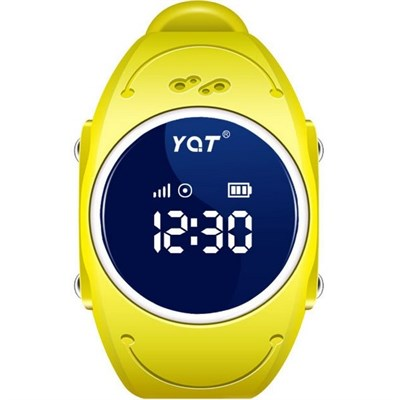 Умные часы Smart Kid Watch Q520S Yellow - фото 11441