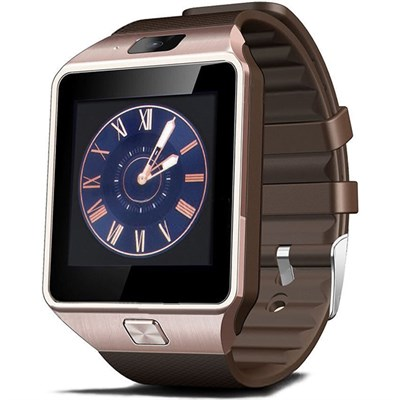 Умные часы Smart Watch DZ09 Gold - фото 11608