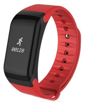 Фитнес-браслет Smart Bracelet F1 Red - фото 11693
