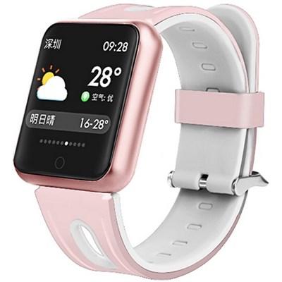 Фитнес-браслет Smart Bracelet P68 Pink - фото 12348