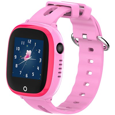 Умные часы Smart Kid Watch DF31 Pink IP67 - фото 12455