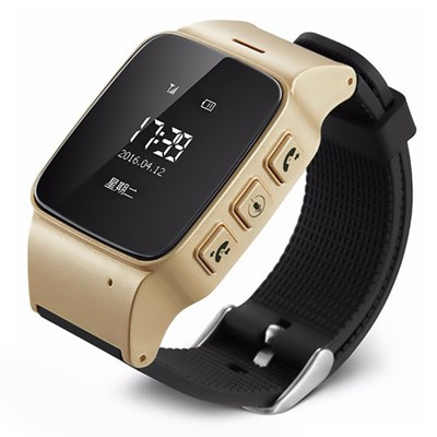 Умные часы Smart Kid Watch D99 Gold - фото 12517