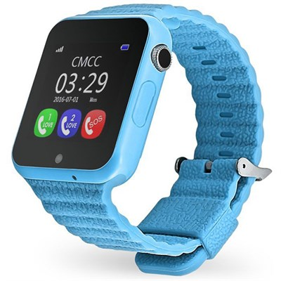 Умные часы Smart Kid Watch V7K GPS+ Blue - фото 12524