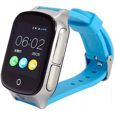 Умные часы Smart Kid Watch T100 Blue Android 3G - фото 12539