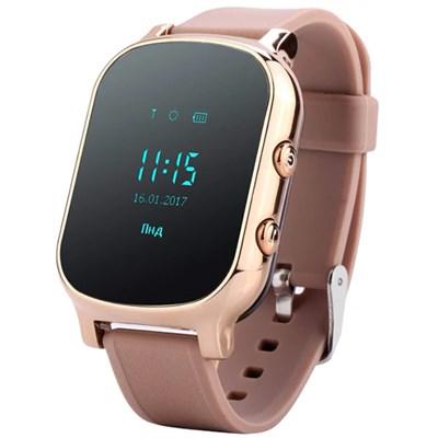 Умные часы Smart Kid Watch T58 Gold - фото 12555