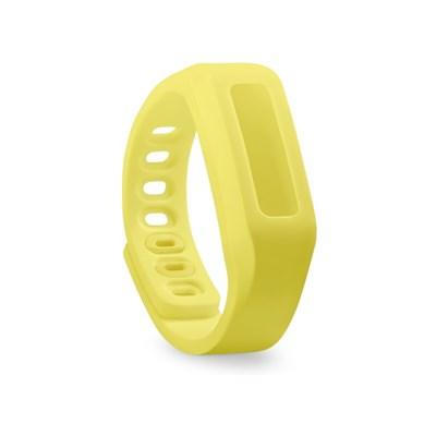 Ремешок для ONETRAK 19 см желтый с застежкой - фото 12751
