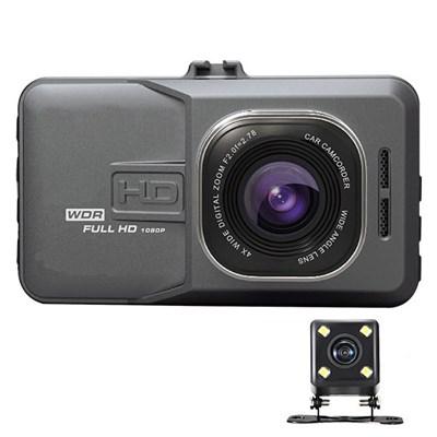 Видеорегистратор BlackBOX DVR T636 FullHD 1080P Dual Lens - фото 12764