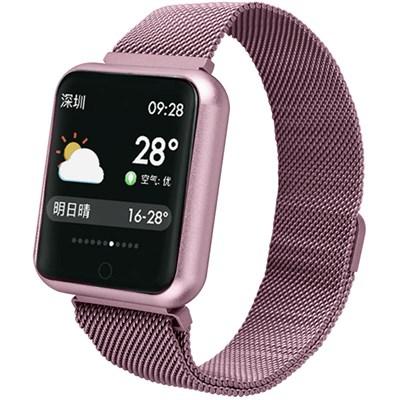 Фитнес-браслет Smart Bracelet P70 Pink - фото 12950