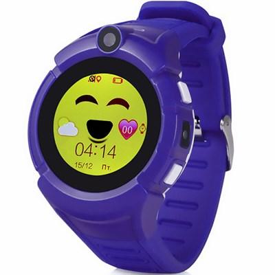 Умные часы Smart Kid Watch Q360 Purple - фото 12991