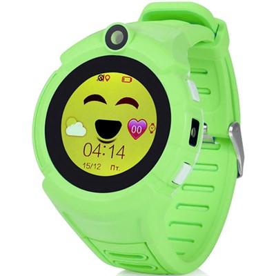 Умные часы Smart Kid Watch Q360 Green - фото 13007