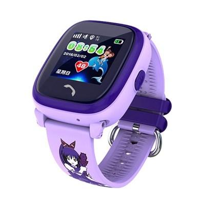 Умные часы Smart Kid Watch DF25G GPS+ Purple - фото 13087