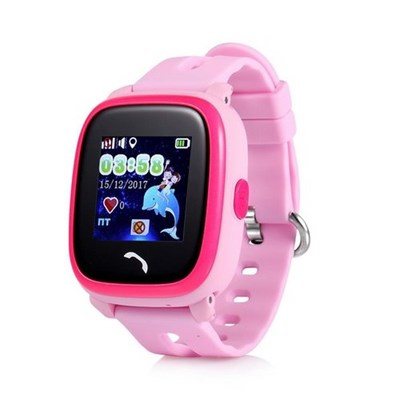 Умные часы Smart Kid Watch DF25G GPS+ Pink - фото 13088