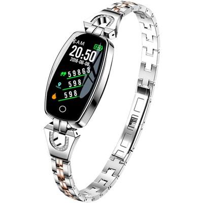Фитнес-браслет Smart Bracelet H8 Silver - фото 13106