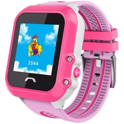 Умные часы Smart Kid Watch DF27 Pink - фото 13328