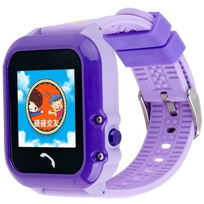 Умные часы Smart Kid Watch DF27 Purple IP67 - фото 13334