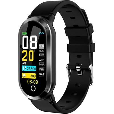 Фитнес-браслет Smart Bracelet T1 Black - фото 13422