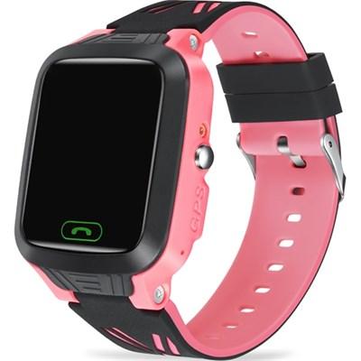 Умные часы Smart Kid Watch Y81 GPS Pink IP67 - фото 13495