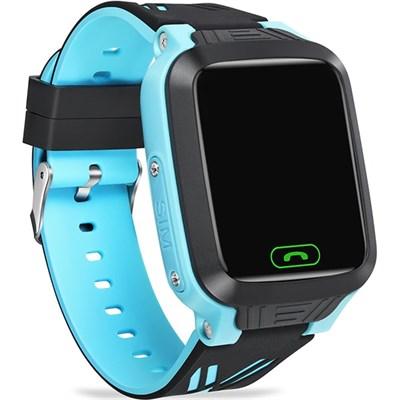 Умные часы Smart Kid Watch Y81 GPS Blue IP67 - фото 13499
