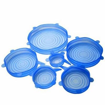 Набор силиконовых крышек для хранения продуктов - фото 14207