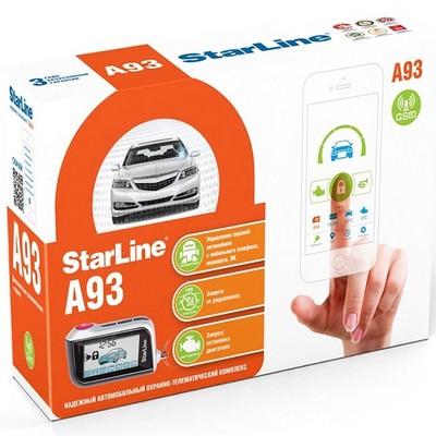 Автосигнализация StarLine Twage A93 GSM - фото 14650