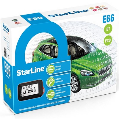 Автосигнализация StarLine Twage E66 BT ECO - фото 14665